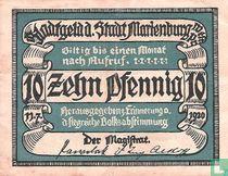 Marienburg 10 Pfennig