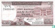 Mauritius 5 Rupees