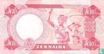 Nigeria 10 Naira 2001