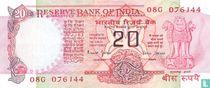 India 20 Rupees 1997 (C)