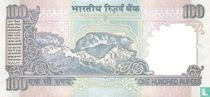 India 100 Rupees 1996