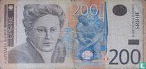 Servië 200 Dinara