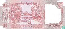 India 10 Rupees (P88g)