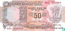 India 50 Rupees 1997 (B)