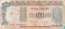 India 100 Rupees