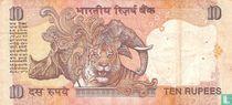 India 10 Rupees 1996 (T)