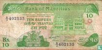 Mauritius 10 Rupees