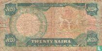 Nigeria 20 Naira ND (1984-) P26e