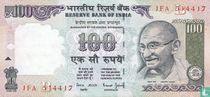 India 100 Rupees 1996 (B)