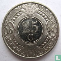 Nederlandse Antillen 25 cent 1994 kopen