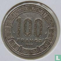 Cameroon 100 francs 1983