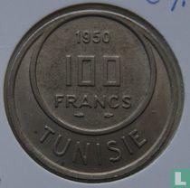 Tunesië 100 francs 1950 (jaar 1370)