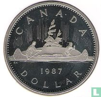 Canada 1 dollar 1987