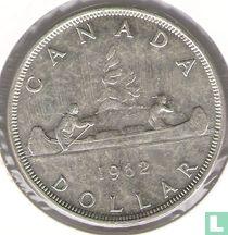 Canada 1 dollar 1962