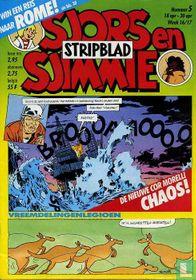 Sjors en Sjimmie Stripblad 5