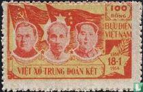 Malenkov, Ho Chi Minh, Mao Zedong
