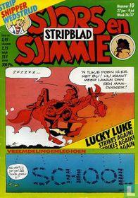 Sjors en Sjimmie Stripblad 10