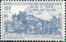 Herstel van de spoorlijn Hanoi-Yunnan