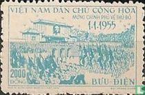 Installatie van de regering in Hanoi