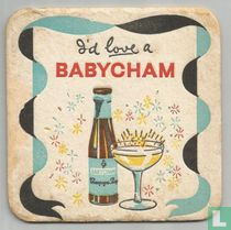 Babycham the genuine champagne perry