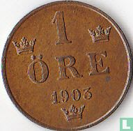 Zweden 1 öre 1903