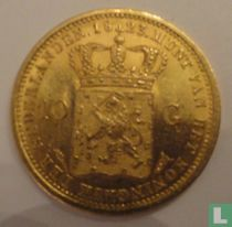 Netherlands 10 gulden 1823