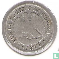 Chili 1 decimo 1879
