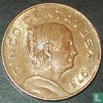 Mexico 5 centavos 1973 (round top 3)