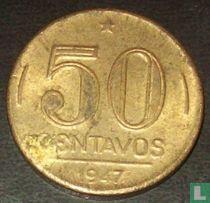 Brazilië 50 centavos 1947