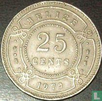 Belize 25 cents 1979