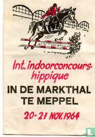 Int. Indoorconcours Hippique