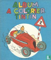 Album a colorier Tintin