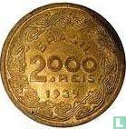 Brasilien 2000 Réis 1939
