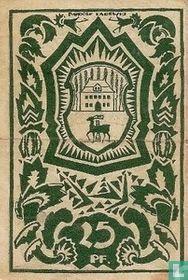 Waldenburg, 25 Pfennig 1921 Stadt