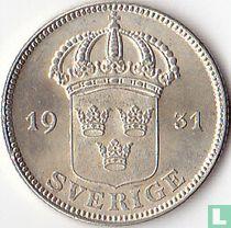 Schweden 50 Öre 1931