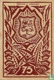 Waldenburg, 75 Pfennig 1921 Stadt