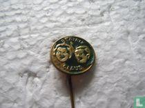 Beatrix Claus (rond) [groen]