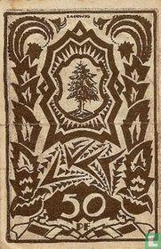 Waldenburg, 50 Pfennig 1921 Stadt