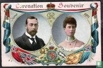 Coronation Souvenir 1911 - King George V and Queen Mary