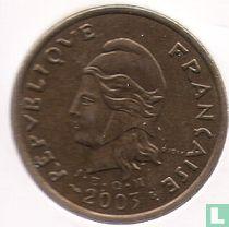 Frans-Polynesië 100 francs 2003