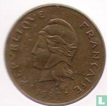 Frans-Polynesië 100 francs 1995