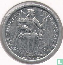 Frans-Polynesië 1 franc 1987