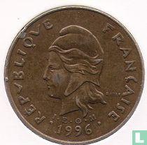 Frans-Polynesië 100 francs 1996