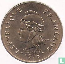 Frans-Polynesië 100 francs 1976