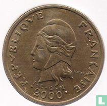 Frans-Polynesië 100 francs 2000