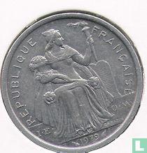 Frans-Polynesië 2 francs 1979