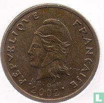 Frans-Polynesië 100 francs 2002