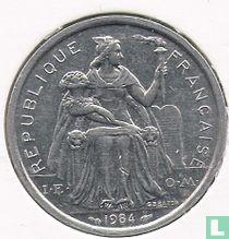 Frans-Polynesië 2 francs 1984