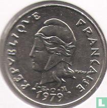 Frans-Polynesië 20 francs 1979