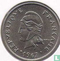 Frans-Polynesië 20 francs 1967